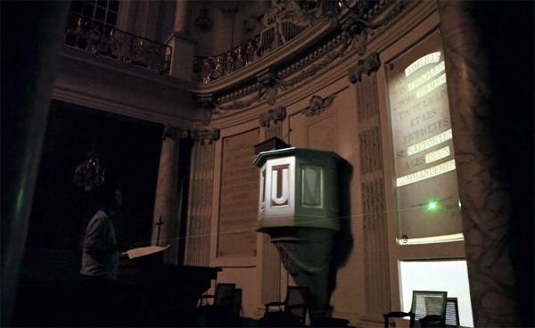 Dit virtuele, geprojecteerde muziekinstrument bespeel je met lasers