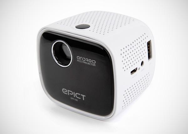 Epict EPP-100: een mini-beamer die draait op Android