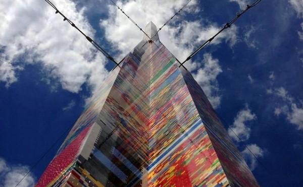 De hoogste LEGO-toren ooit