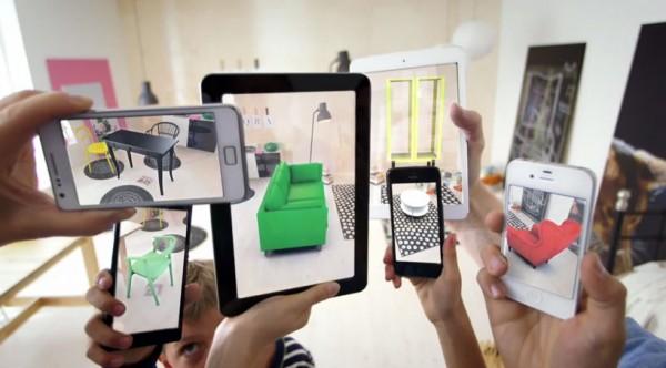 Probeer meubels van IKEA uit met augmented reality