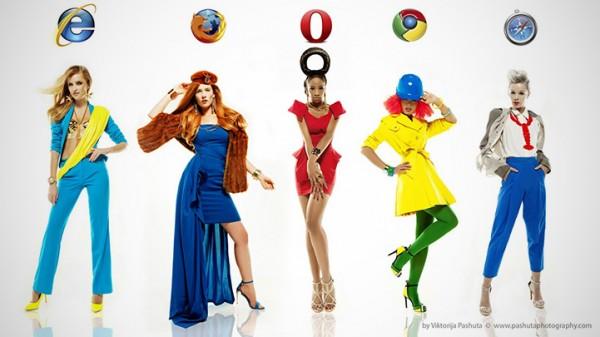Als internetbrowsers vrouwen waren