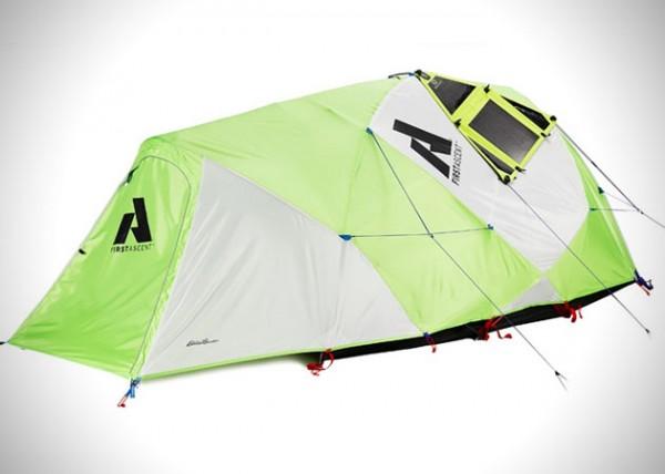 Katabatic Tent: een tent met ingebouwde zonnepanelen
