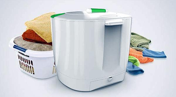 Laundry Pod: een wasmachine die geen elektriciteit nodig heeft