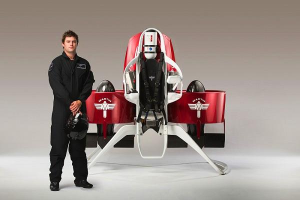 De fenomenale Martin Jetpack mag het Nieuw-Zeelandse luchtruim in
