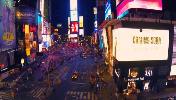 Een prachtige video van NYC, gemaakt met een Phantom quadrotor
