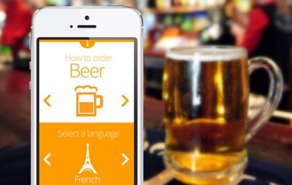 Pivo: stijlvol ontworpen app laat je in alle talen bier bestellen