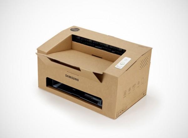 Samsung Origami: een printer van karton