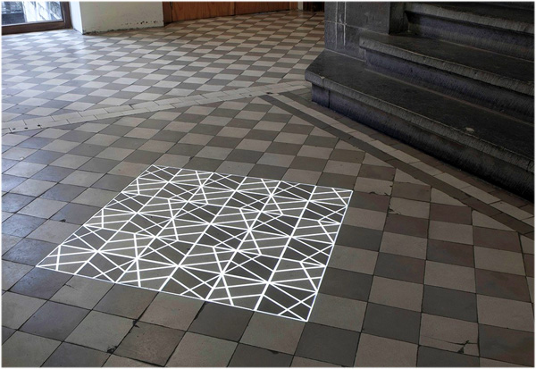Time Tilings: projection mapping wekt tegels tot leven