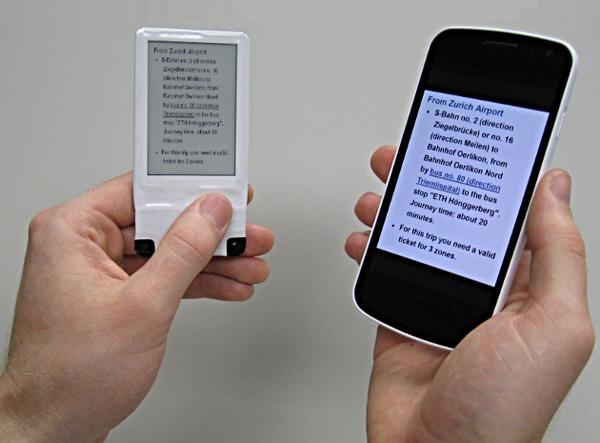 Dit tweede scherm voor je smartphone werkt op draadloze elektriciteit