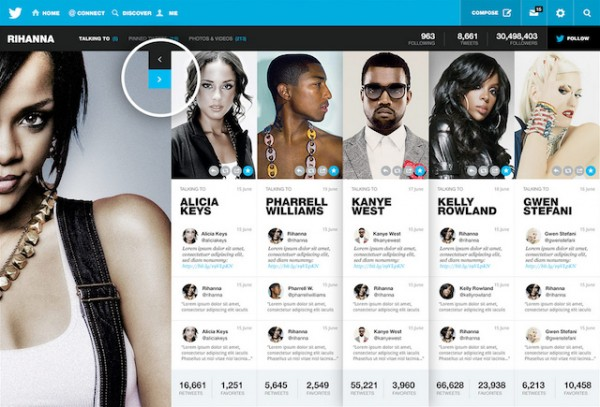 Een prachtig redesign voor Twitter's website