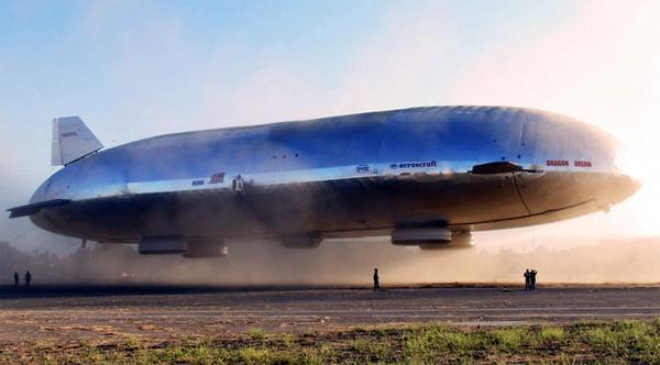 Aeroscraft: de toekomst van luchttransport?