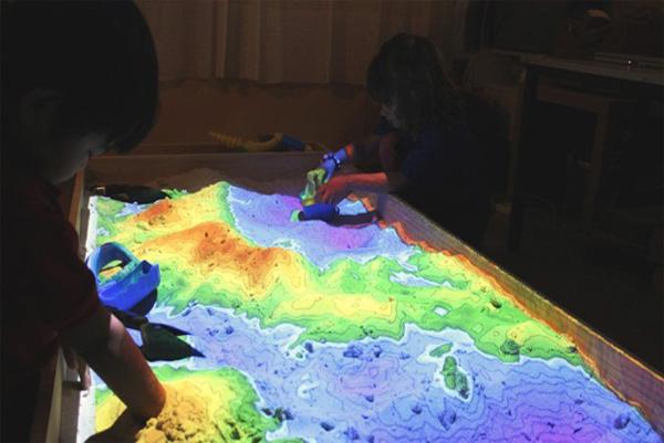 Spelen in een zandbak is véél leuker met augmented reality