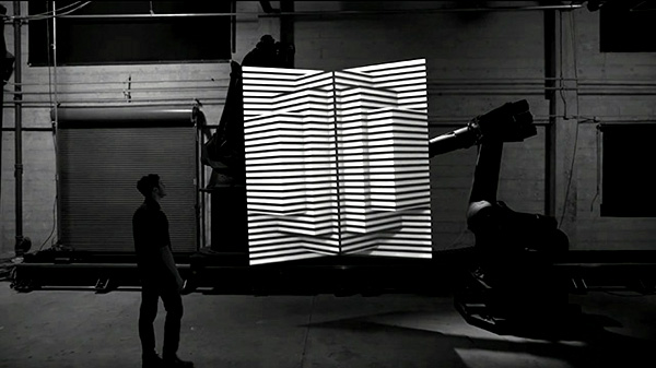 Beeldschoon: projection mapping op bewegende objecten