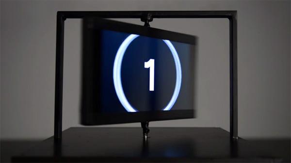Wow! Deze roterende beeldschermen houden je hersenen voor de gek