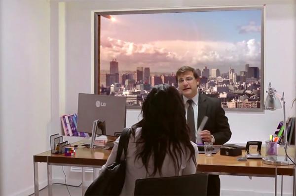 LG houdt sollicitanten voor het lapje met de Ultra HDTV