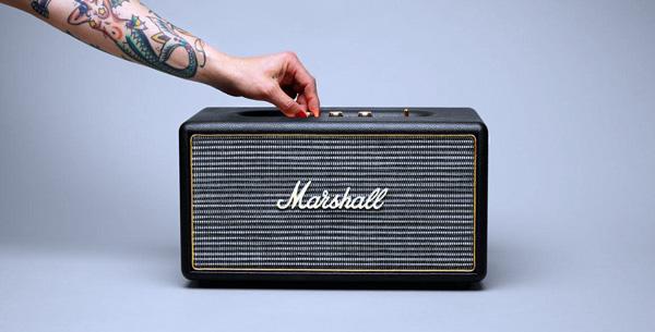 Marshall Stanmore: een draadloze speaker waarmee je gezien kan worden