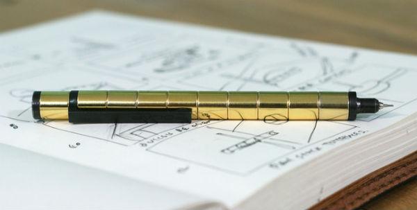 Polar: een bijzondere pen die gemaakt is van twaalf losse magneten