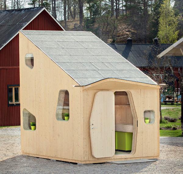 Smart Student Unit: een minuscuul huisje voor één persoon