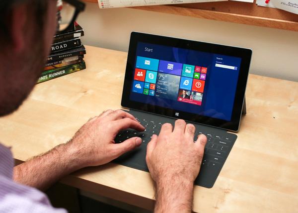 Microsoft Surface 2 en Surface Pro 2