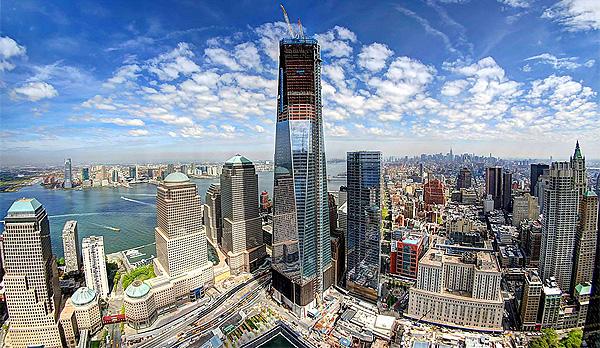 Timelapse: de bouw van NYC's hoogste toren