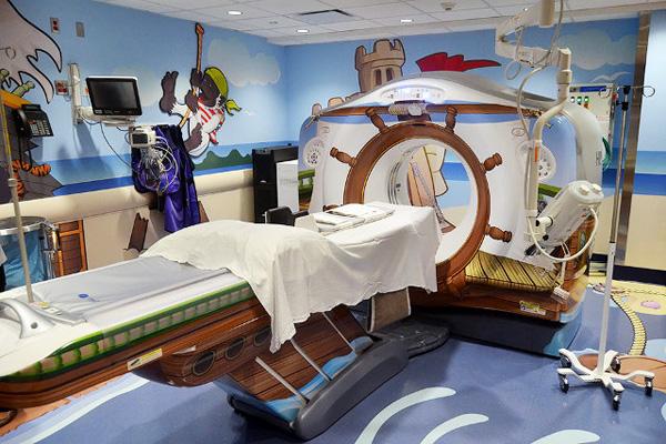 De vrolijkste CT-scanner ooit