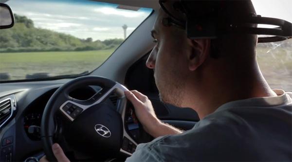 Attention Powered Car: een auto die alleen rijdt als je oplet