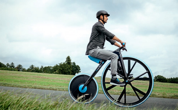 Terug van weggeweest: BASF ontwikkelt een elektrische vélocipède