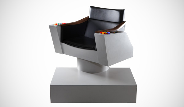 Waan je Captain Kirk met de Star Trek Command Chair