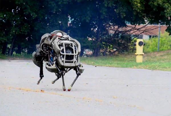 DARPA's WildCat robot wil je niet op straat tegenkomen
