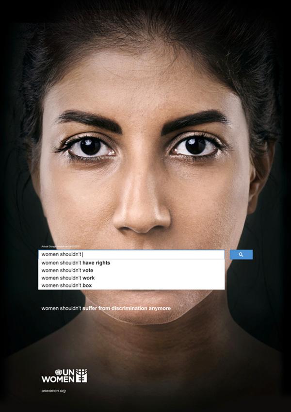Treffende reclame gebruikt Google Autocomplete om de aandacht te vestigen op seksisme