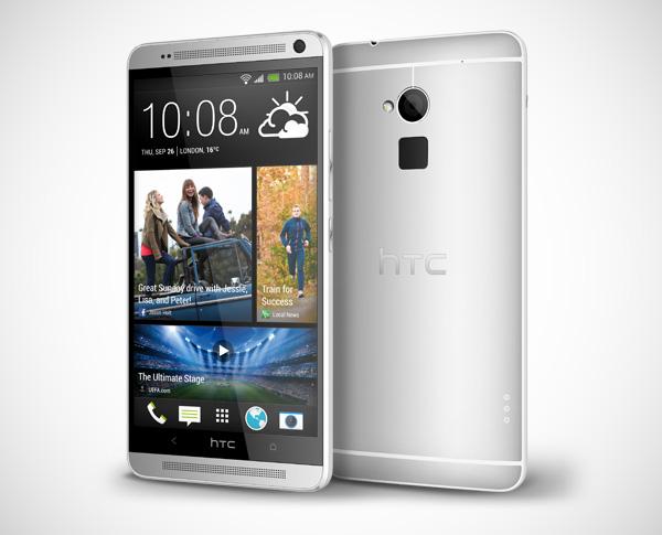HTC One Max: een joekel van een smartphone mét vingerafdrukscanner