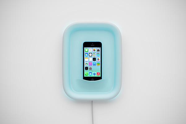 Myquadro Dock: een iPhone als kunstwerk