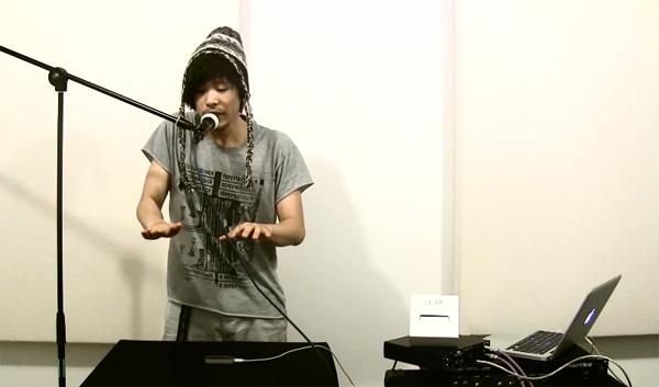 Humanelectro: beatboxen met de Leap Motion