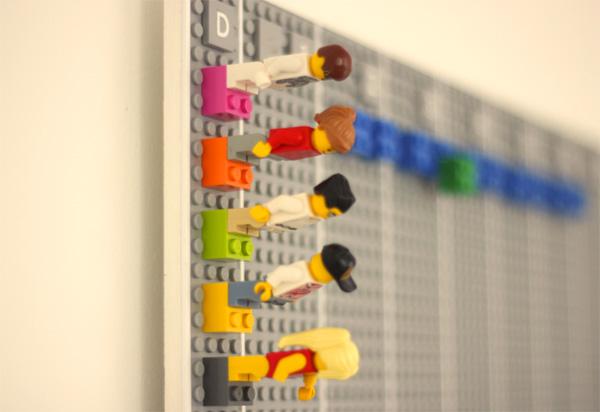 Deze kalender van LEGO combineert analoog met digitaal
