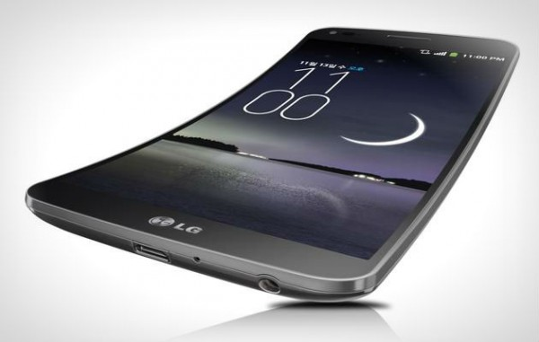 """LG G Flex: een kromme smartphone met """"zelfhelende"""" capaciteiten"""