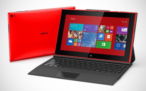 Nokia's eerste tablet, de Lumia 2520, en de high-end smartphone Lumia 1520