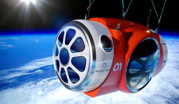 Maak een reis naar de ruimte voor 55.000 euro