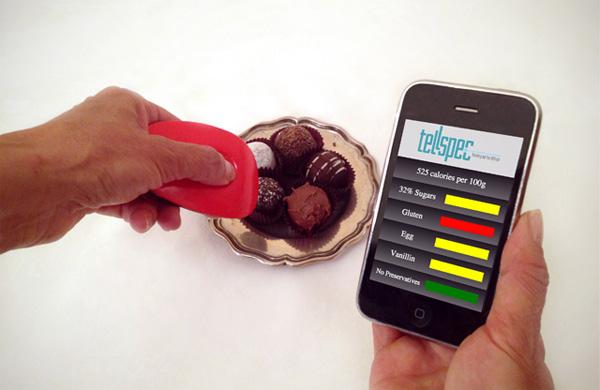 Tellspec: een handige sensor die vertelt wat er in je eten zit