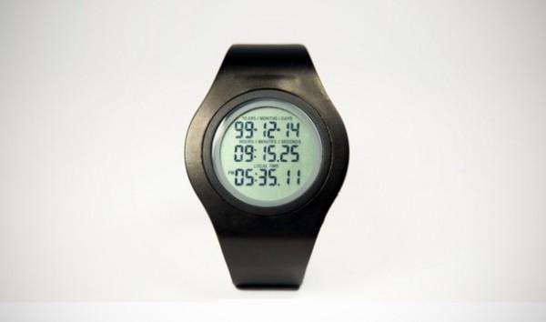 Tikker horloge laat zien hoe lang je nog te leven hebt