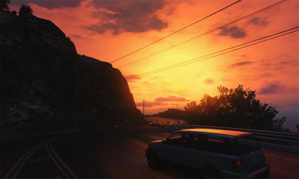 Deze mooie timelapse-video is volledig gemaakt in GTA V