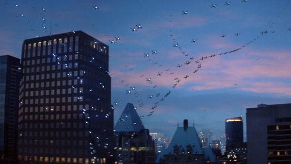 Amazing in Motion: fantastische video met een ballet van drones