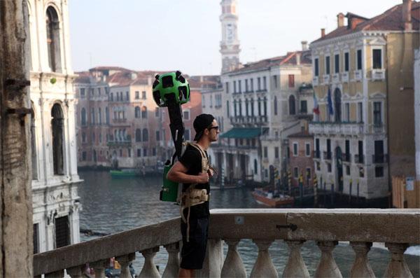 Maak een virtuele trip door Venetië met Google Streetview
