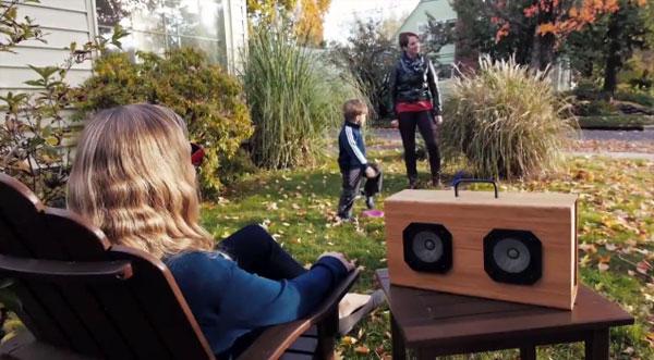 Blueshift Helium: een draadloze speaker met een supercondensator