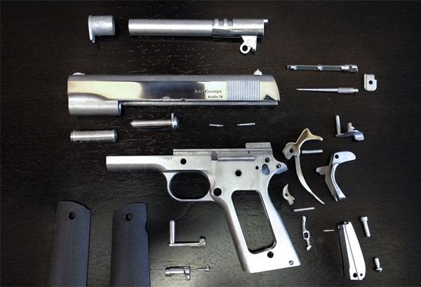Het eerste metalen pistool dat gemaakt is met een 3D-printer is een feit