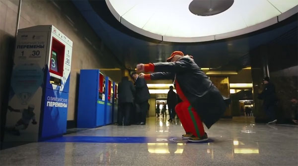 Hurken voor een gratis metrokaartje: een slimme manier om mensen meer te laten bewegen