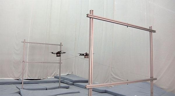 De kracht van technologie: quadrotors als vliegende spinnen