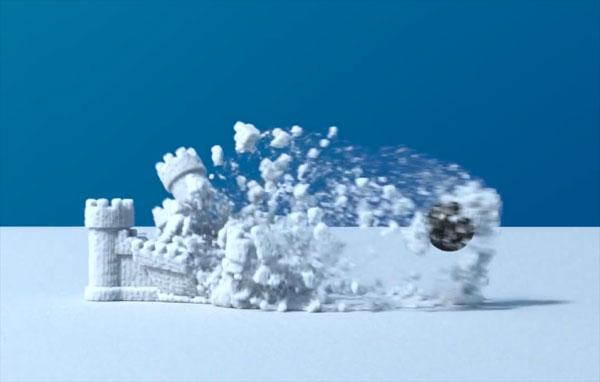 Disney's sneeuw uit de computer is nauwelijks van echt te onderscheiden