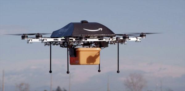 De toekomst van pakketbezorging: drones die je spullen thuis afleveren