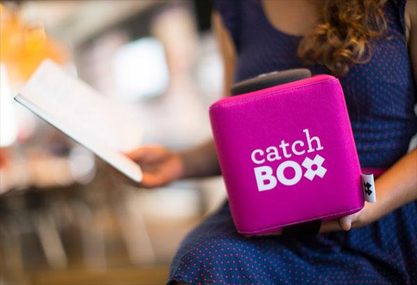 Catchbox: een microfoon waarmee je kunt gooien