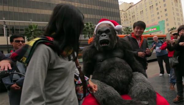 Met dit high-tech gorillapak ben je niet van een aap te onderscheiden